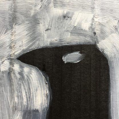 visionary pagan art artist crow painting
