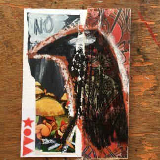 queer trans fine art welsh artist crow