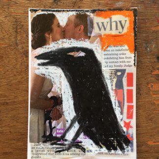 west wales artist carmarthen queer lgbt fine art crow