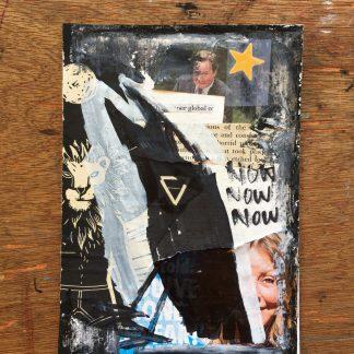queer non binary fine art crow